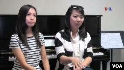 Fonny Chandra and Bianca Roesli, piano teachers at Anna Poklewski Academy of Music.