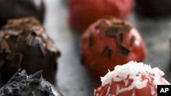 Јагоди прелиени со чоколадо