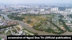 Phát triển đô thị thiếu kiểm soát ở Tp.HCM bị xem là nguyên nhân chính gây ra ngập lụt
