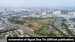 Khu đất 32,4 hecta Quốc Cường Gia Lai mua từ Cty Tân Thuận thuộc Thành ủy TP.HCM