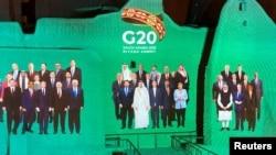 "ARHIVA - ""Grupna fotografija"" lidera G20 (Foto: Rojters/Nael Shyoukhi)"