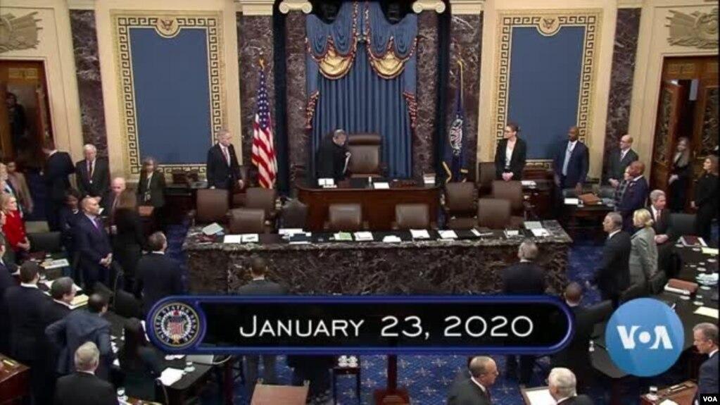 Thượng viện sẽ biểu quyết trong tuần này để quyết định có gọi thêm nhân chứng mới trong phiên xét xử luận tội TT Trump hay không.