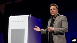 Elon Musk, CEO Tesla Motors Inc.