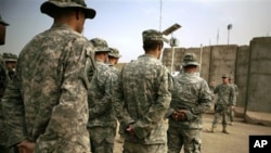 US soldiers serving in Baghdad, Iraq (file photo)