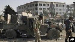 塔利班暴力活動後。(資料照)