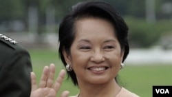 Mantan Presiden Filipina, Gloria Macapagal Arroyo (foto: dok).