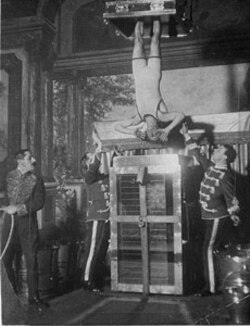 Harry Houdini began performing his escape from the Chinese Water Torture Cell in 1913