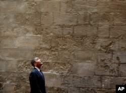 FILE - President Barack Obama tours the Sultan Hassan Mosque in Cairo, Egypt, June 4, 2009.