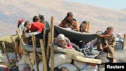 Dân Syria chạy tránh các trận giao tranh