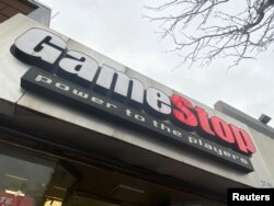 A GameStop store is seen in New York, U.S., January 27, 2021. REUTERS/Nick Zieminski