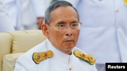 Quốc vương Thái Lan Bhumibol Adulyadej.