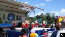 Cambodian-Americans celebrate Cambodian Community Day in 2008.