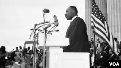 مارتین لوتر کینگ رهبر جنبش حقوق مدنی