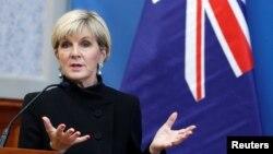 Ngoại trưởng Úc Julie Bishop không nêu tên Trung Quốc nhưng lập luận rằng luật pháp quốc tế sẽ giữ ổn định cho một khu vực mà nhiều nước tuyên bố chủ quyền cạnh tranh ở Biển Đông.