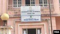 Sede da Procuradoria-Geral da República em Malanje (Foto de Arquivo)