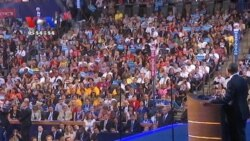 Obama Accepts Democratic Nomination