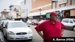 "Larry Genuchi, a retired educator and Brownsville, Texas resident, is appreciative of law enforcement, but suggests some immigration policies need to change. ""They're finding out the laws don't work real well,"" Genuchi said."