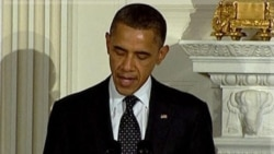 اوباما: قذافی باید قدرت را واگذار کند