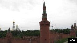克里姆林宫。俄罗斯国内政局让普京不能安心访华。