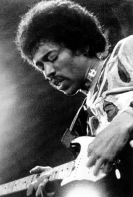 Jimi Hendrix performs on the Isle of Wight in England (1970 file photo)