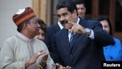 رئیس جمهوری ونزوئلا در دیدار با محمد بارکیندو دبیرکل اوپک