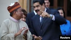 Maduro hizo sus declaraciones luego de reunirse con el secretario general de la Organización de Países Exportadores de Petróleo (OPEP), Mohammed Barkindo, en la capital venezolana.