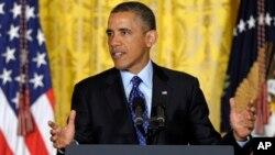 Presiden Barack Obama akan mengembalikan gajinya 5 persen atau sekitar 1.700 per bulan kepada pemerintah (foto: dok).