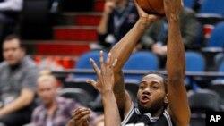 Kawhi Leonard, alors avec les Spurs, Minneapolis, le 8 mars 2016.