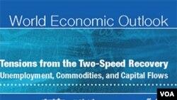 Prospek Ekonomi Dunia IMF yang dikeluarkan hari Jumat (17/6).
