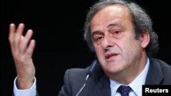 Президент Союза европейских футбольных ассоциации (УЕФА), легенда французского футбола Мишель Платини