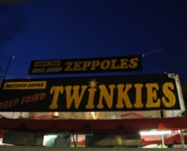 Take your classic American junk food - Twinkies - cover them with chocolate, and you have . . . a gut-buster for the ages.