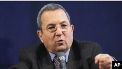 Defense Minister Ehud Barak (file photo)