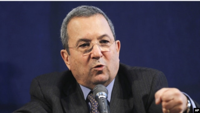 Defense Minister Ehud Barak (file photo)