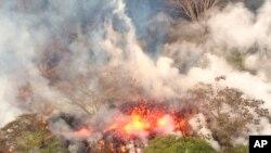 ဟာဝိုင္ယီကၽြန္း၊ Kilauea မီးေတာင္ဝကေန ေပါက္ကြဲ ( ေမ ၁၆-၂၀၁၈)