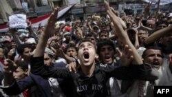 Мітингувальники вимагають відставки президента Ємену.