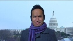 Suasana Menjelang Inaugurasi Obama 2013 - VOA Live untuk Indosiar