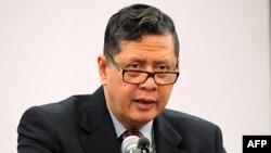 Ông Marzuki Darusman, báo cáo viên đặc biệt của Liên Hiệp Quốc về nhân quyền ở Bắc Triều Tiên