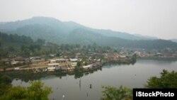Tỉnh Mae Hong Son, phía bắc Thái Lan.