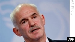 Obama Papandreu İle Görüşüyor
