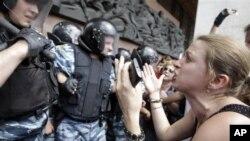 Киев, Украина. 4 июля 2012 г.