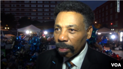 Tony Evans is pastor of Oak Cliff Bible Fellowship in Dallas, Texas, July 12, 2016. (M. O'Sullivan/VOA)