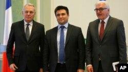 Министры иностранных дел Германии, Франции и Украины