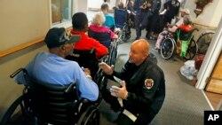 Người cao niên tại một Viện dưỡng lão ở Fayetteville, North Carolina (ảnh chụp ngày 15/9/2018)