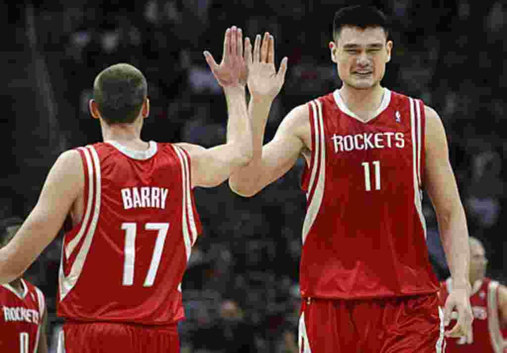 """""""Los Tiburones del Este de Shanghai serán una extensión de mi carrera como basquetbolista"""" dijo Yao Ming."""