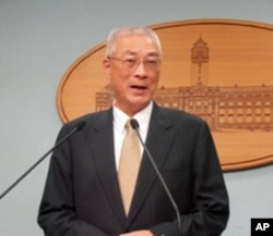 台湾行政院长 吴敦义