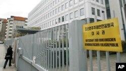독일 베를린 주재 북한 대사관. (자료사진)