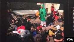 مسعود حسیني یوازینی افغان خبریال دی چې د پولتزر جایزه یې ګټلې ده