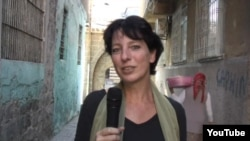Hollandalı gazeteci Frederike Geerdink