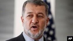 جنرال بسم الله محمدی یک بار وزیر داخله، و بار دیگر وزیر دفاع حکومت آقای کرزی بود