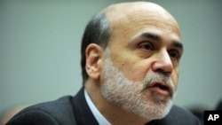Federal Reserve Board Chairman Ben Bernanke (file photo)